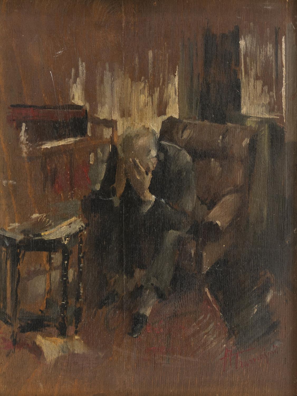 Lot 42 - ANTONIO TRAMAJONI (Milano 1915 ?) Solitudine