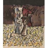 Lot 50 - JOSÉ ORTEGA (Arroba de los Montes 1921- Parigi 1991) Senza titolo Tecnica mista su carta, cm. 20 x