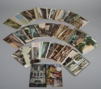 POSTCARDS: Great Britain, includes Cymmer Colliery, Rhonda Valley, and School of Mines, Camborne,