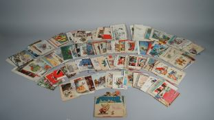 GREETINGS CARDS: Christmas cards, a collection of approx. 160, ca.