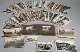 POSTCARDS / PHOTOGRAPHS: a collection of approx.