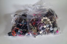 Jewellery, including; 20th century costume jewellery, comprising, bracelets, necklaces,