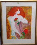 A group of assorted 20th century prints, including works by Epko, Claude Hemeret,