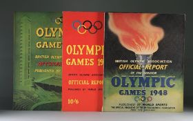 OLYMPIC GAMES: British Olympic Association Official Report of the London Olympic Games July 29 -