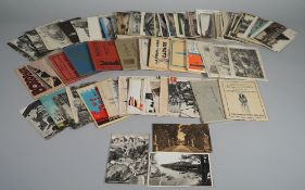 POSTCARDS: Foreign, includes Europe, South Afica, Egypt, Ceylon, Japan, and a few WW1 related,