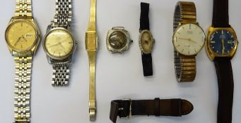 An Omega Seamaster Automatic steel cased gentleman's bracelet wristwatch, with an Omega clasp,