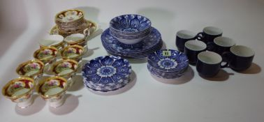 Ceramics, including; Royal Albert floral decorated part tea set,