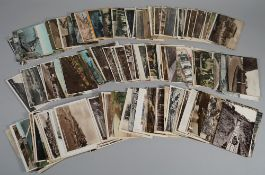 POSTCARDS: Great Britain, including local Sussex interest, a collection of approx. 200.