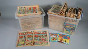 BEANO, BUSTER and DANDY comics: a collection of approx.