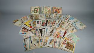 GREETINGS CARDS: Birthday cards, ca. 1920s - 1960s, a collection of approx. 230.