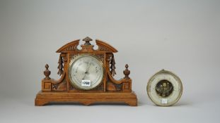A barometer/thermometer compendium by J.B.