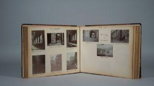 PHOTOGRAPH ALBUM, 1912 - 1918: 54pp., approx.