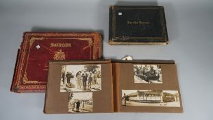 PHOTOGRAPH ALBUMS: India, a group of three albums, ca. 1920s, 'Baroda Views'. 72pp. ex 76pp.