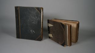 PHOTOGRAPH ALBUMS: two albums, attributed to Herbert Bowyer Berkeley (1851 - 1890),