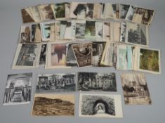 POSTCARDS: Great Britain, includes Ethelburga's Convent and Boarding School, Kent,