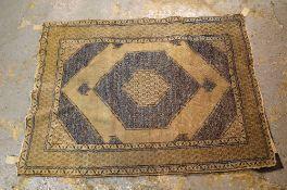 A Hamadan rug, 183cm x 132cm.