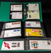 An all-world collection of First Day Covers and postal history including Netherlands,