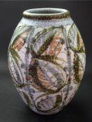 A Glyn Colledge Bourne Denby baluster vase, 30cm high.
