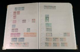 UNITED STATES OF AMERICA; mint and used collection in a stock book.