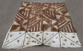 A Tongan Tapa, 420cm x 178cm.