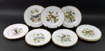 A set of twelve Spode bone china plates,
