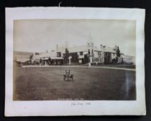 Glen Tana: Glen Tana from S-W and Interior of Music Room, 1886, photographs, each 18.