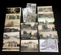A collection of four Sinn Fein Rebillion 1916 printed postcards,