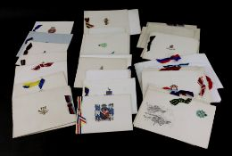 A collection of Regimental christmas cards and a few others (qty).