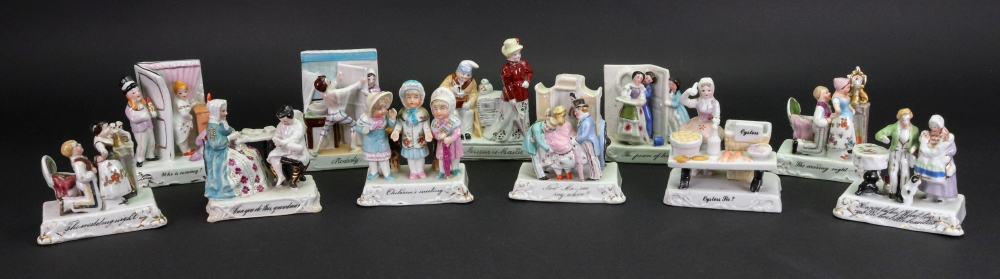Lot 32 - A collection of eleven fairings including: The Wedding night, Modesty, Children's Meeting,