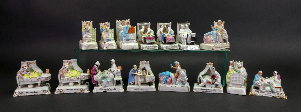Lot 57 - A group of fifteen fairings including; Who Said Rats, The Landlord In Love,