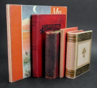 HAWTHORNE (Nathaniel) Transformation: 1860, in two volumes, original black and gilt decorated velum,