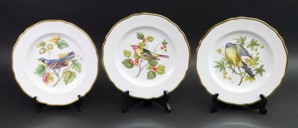 Lot 50 - A set of twelve Spode bone china plates,