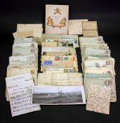 An interesting collection of ephemera relating to Major R F Devereux,