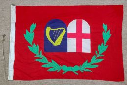 The flag of a General at sea, with the s