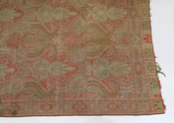A paisley shawl, late 19th/early 20th ce
