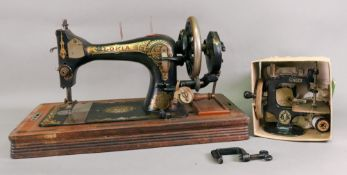 A Singer for the girls sewing machine in