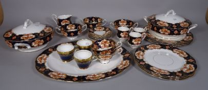An extensive Royal Albert part dinner and tea set, together with a Minton Hadden Hall part service,