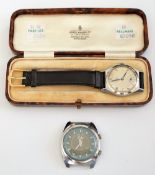 An Omega steel cased gentleman's wristwatch,