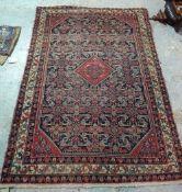 A Senneh Hamadan rug, Persian,