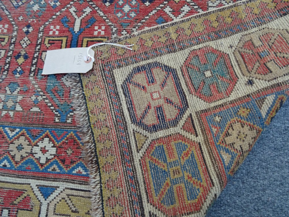 Lot 1540 - A Gendje rug, Caucasian,