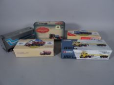Toys, a group of boxed Corgi classic vehicles, mainly busses, coaches, lorries and haulage.