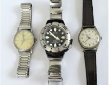 An Omega base metal fronted and steel backed M.