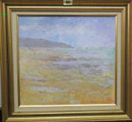 John Denahy (b.1922), Beach at Sion-s-l'Ocean, Vendee, oil on canvasboard, signed, 32cm x 34cm.