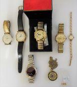 A Regency 9ct gold cased lady's wristwatch,