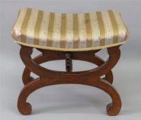 A reproduction Regency style mahogany dr