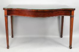 A reproduction George III style mahogany