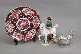 A modern Japanese plate, 25cm diameter,