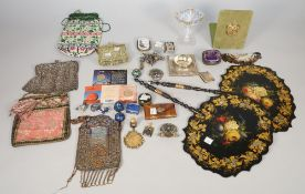 A small group of collectables including;