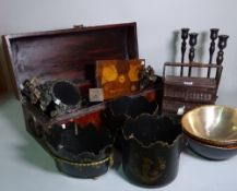 A quantity of 20th century Asian collectables,