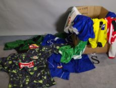 A quantity of 1980s/ 90s Premiership (1st division) and International football shirts,